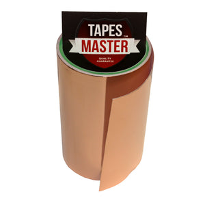 "6"" X 10ft - 1 Mil Copper Foil EMI Shielding Conductive Adhesive Tape, 10 ft Copper Foil Tapes- Tapes Master"