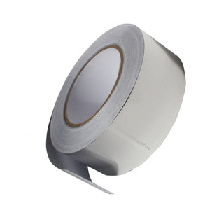 "Aluminum Foil Adhesive Tape - 2"" x 55yds ( 25mm x 50m) Silver - Ship From USA, Aluminum Foil Adhesive Tape- Tapes Master"