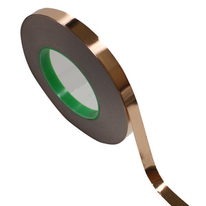 "1/2"" x 55 yds - 1 Mil Copper Foil EMI Shielding Conductive Adhesive Tape, Copper Foil Tapes- Tapes Master"