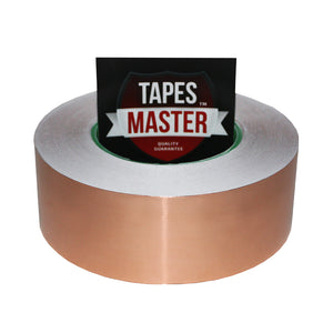 "2"" x 55 yds - 1 Mil Copper Foil EMI Shielding Conductive Adhesive Tape, Copper Foil Tapes- Tapes Master"