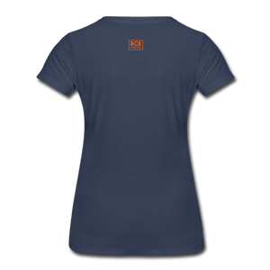 African Fabric Co. Women's Premium T-Shirt (Light) - navy