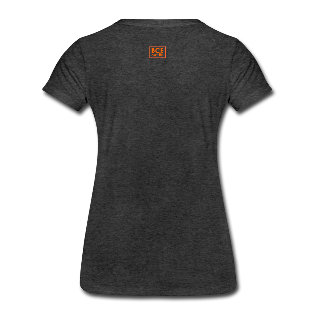 African Fabric Co. Women's Premium T-Shirt (Light) - charcoal gray