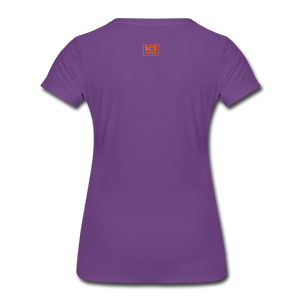 African Fabric Co. Women's Premium T-Shirt (Light) - purple