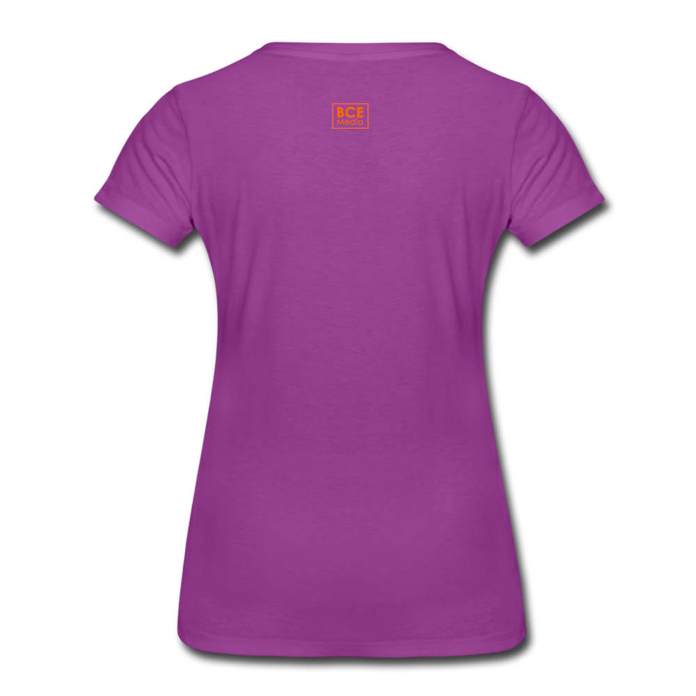 African Fabric Co. Women's Premium T-Shirt (Light) - light purple