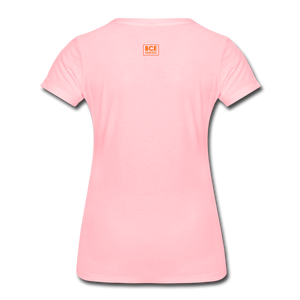 African Fabric Co. Women's Premium T-Shirt (Light) - pink