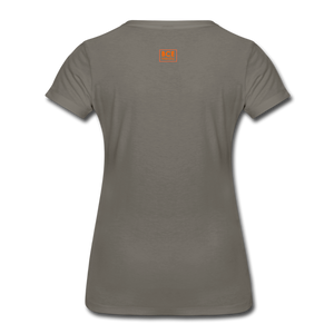 African Fabric Co. Women's Premium T-Shirt (Light) - asphalt