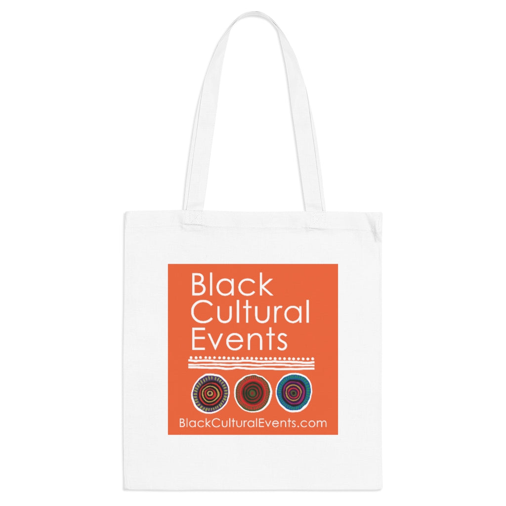 Black Cultural Events Tote Bag