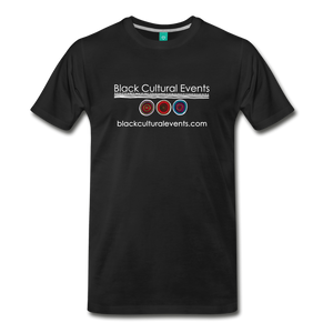 Black Cultural Events Men's Premium T-Shirt - black