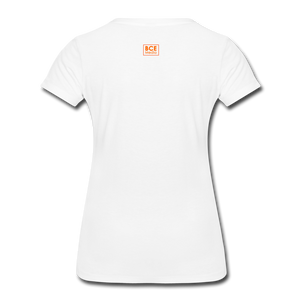 African Fabric Co. Women's Premium T-Shirt (Light) - white