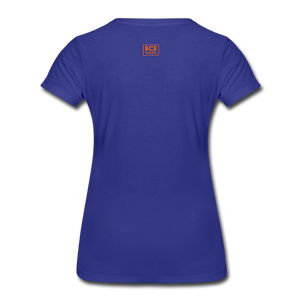 African Fabric Co. Women's Premium T-Shirt (Light) - royal blue