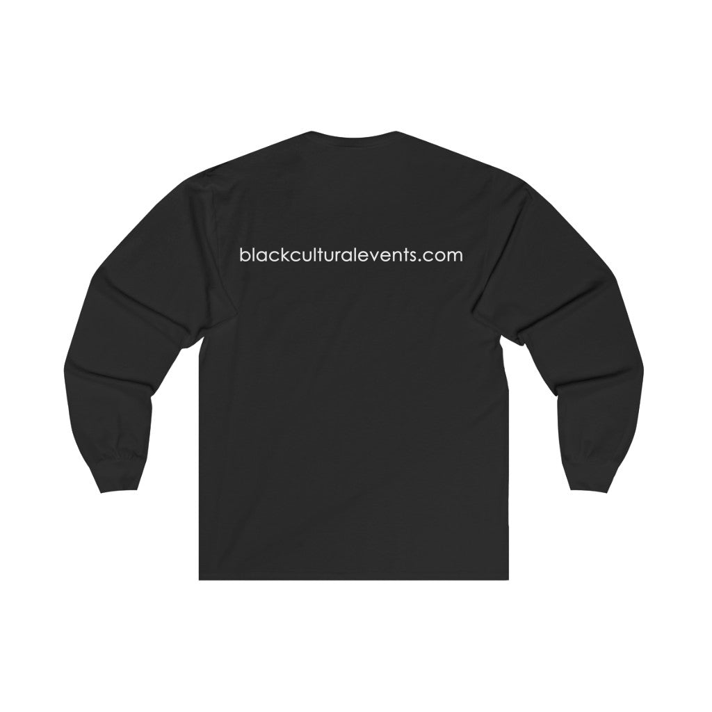Black Cultural Events Unisex Long Sleeve T-Shirt