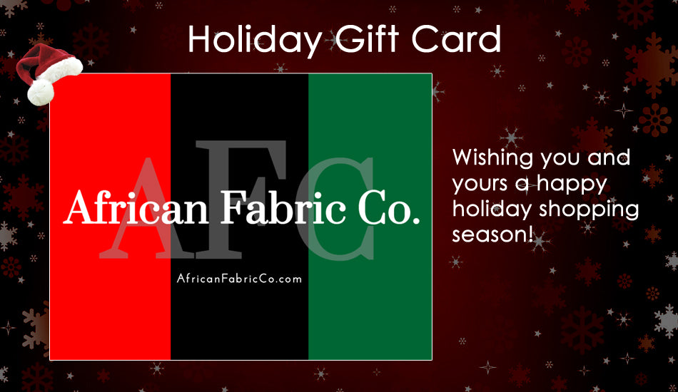 African Fabric Co. Gift Card