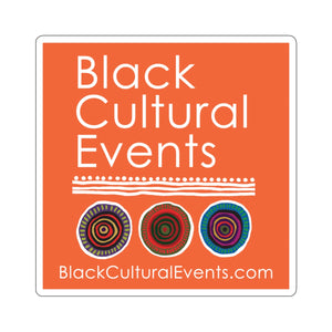 Black Cultural Events Stickers
