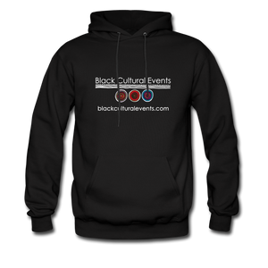 Black Cultural Events Hoodie - black