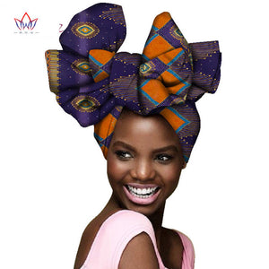 2019 Beautiful African print head wraps African print turban scarf headtie for women African Print headband AF004
