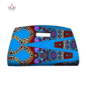 Handmade African Wax Print Hand Bags for Party or Wedding Women Ankara Fashions Bag African Fabric Accessories