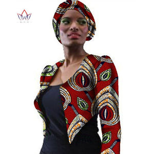 New African Women Clothing Outfits Coat Bazin African Print Coat Jacket Dashiki