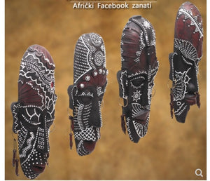 African mask Wall Hanging Art Work Display