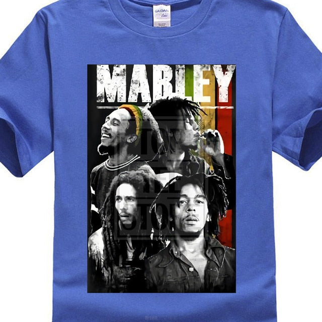 Bob Marley Collage T Shirt