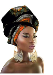 10pcs DHL wholesales Fashion African Headwraps For Women Head Scarf For Lady Hight Quality Cotton Women Head wraps Accessories