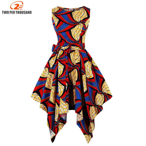 African Dresses For Women Africa Clothing Asymmetrical Dress Middle East Dashiki Dresses Bazin Riche Traditional