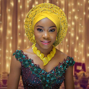 Nigerian African Headtie For Woman