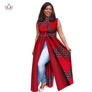 Plus Size dresses women  traditional african fashion Clothing O-Neck Africa Wax Dashiki Slim Cut Sexy  long dress 7xl WY1604