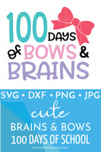 100 Days of Bows & Brains