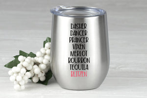 Dasher Dancer Prancer Vixen Booze Bundle