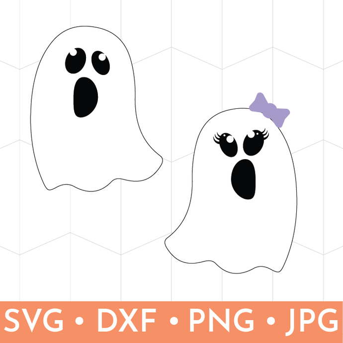 Girl & Boy Friendly Ghost