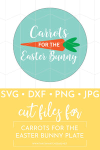 Carrots for the Eater Bunny Plate