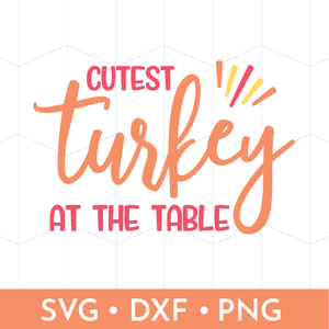Cutest Turkey at the Table