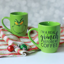 Grinch Before Coffee