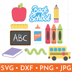 School Days Clip Art & SVG