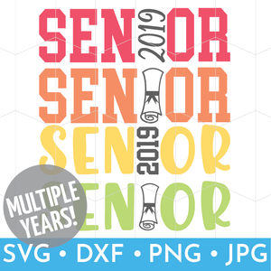 Senior Class SVG Files