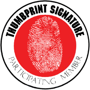 Thumbprint Signature - Decals