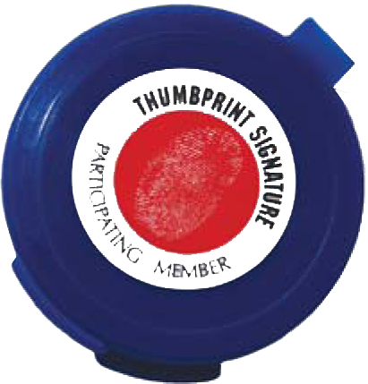 Thumbprint Signature - Touch Pads