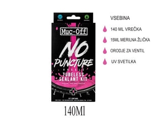 Muc-Off No Puncture tubeless set 140ml