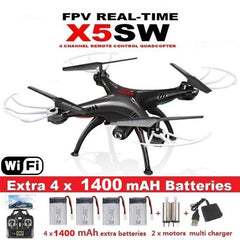 X5SW FPV Drone X5C Upgrade WiFi Camera - HOBBYWORLDSTORE