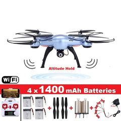 X5HW Quadrocopter Drone with Camera Wifi FPV - HOBBYWORLDSTORE