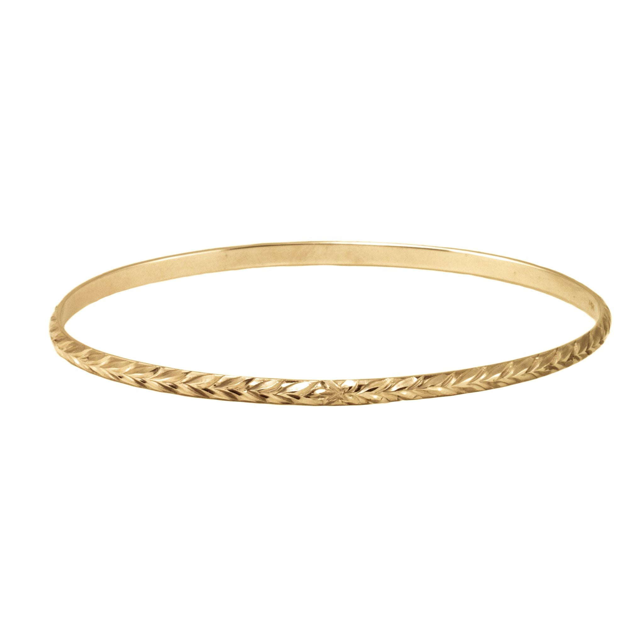 yellow christening products bangle expandable bracelet cut diamond gold