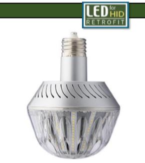 75W Post Top Retrofit -Light Efficient Design