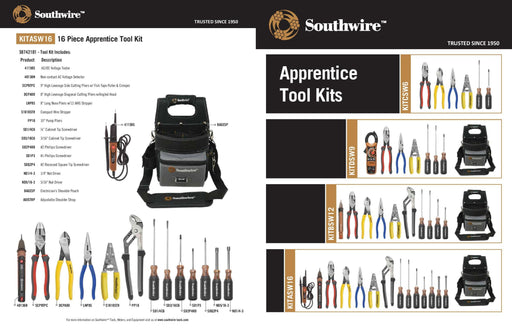 Electrician's Tool Kits (Plus A Link to AVET Online For Large Companies) -Southwire