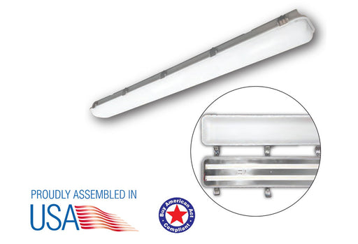 4ft Vapor Tight Linear Fixture -Patriot LED