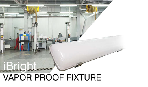 4ft iBright Vapor Proof Fixture -ATG