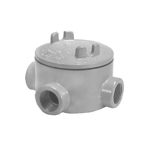 Outlet box, explosion proof, type T