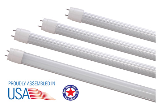 T8/T12 Direct Wire (UL Type B) Tube, AC100-347V, Aluminum Housing -Patriot LED