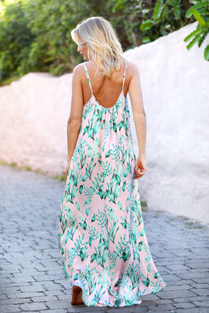 Blush Crush - Long Dress
