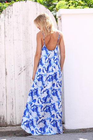 Swept Away - Long Dress