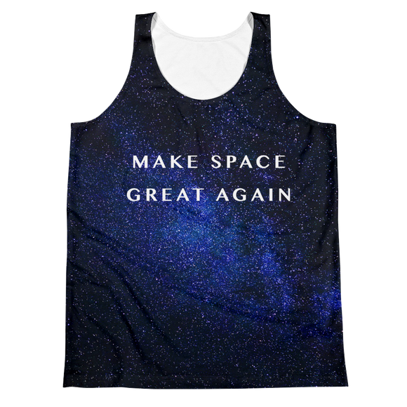 MAKE SPACE GREAT AGAIN – FRONT & BACK